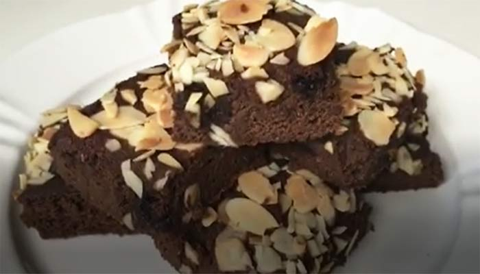 Brownie de Batata Doce Sem Glúten e Lactose