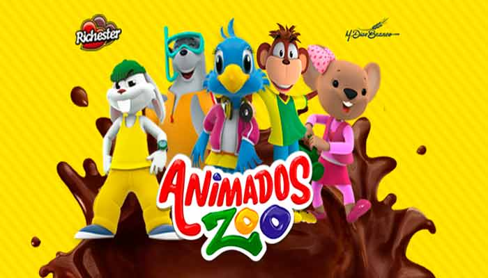 Férias divertidas com Animados Zoo