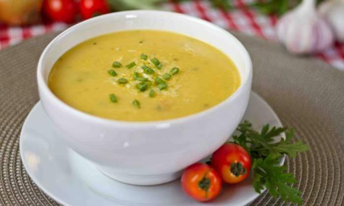 Receita de Sopa De Mandioquinha Vegana